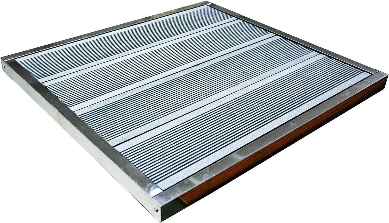 K2O KSM1003 - Base para montaje de ducha solar Como 70, 5x66, 5x3, 5 cm: Amazon.es: Jardín
