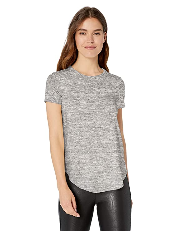 Amazon Brand   Daily Ritual Women's Supersoft Terry Short Sleeve Shirt With Shirttail Hem by Daily Ritual