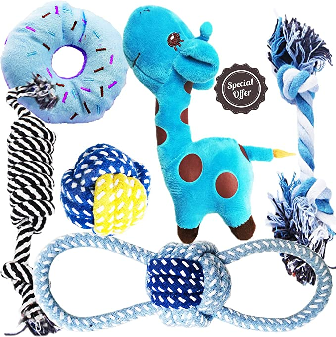 BUIBIIU Dog Toys Small Dog Chew Toys Dog