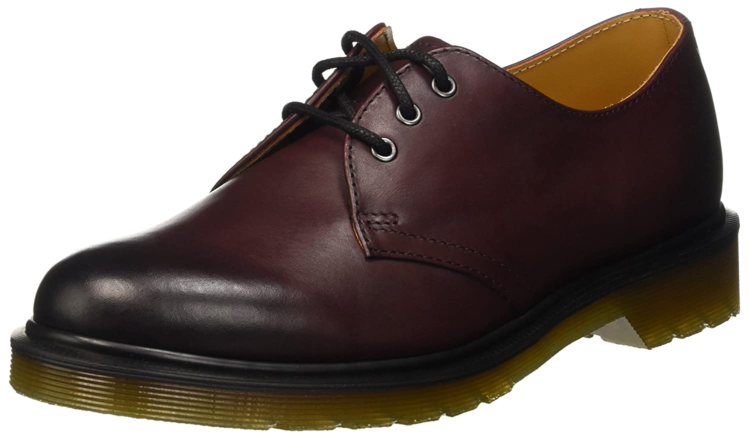 TALLA 36 EU. Dr. Martens 1461 Cherry Red Antique Temperley, Mocasines Unisex Adulto