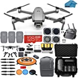 DJI Mavic 2 Pro Drone Quadcopter with Fly More Combo, Waterproof Hard Case, Hasselblad Camera, 3 Batteries, ND Filters, 128GB