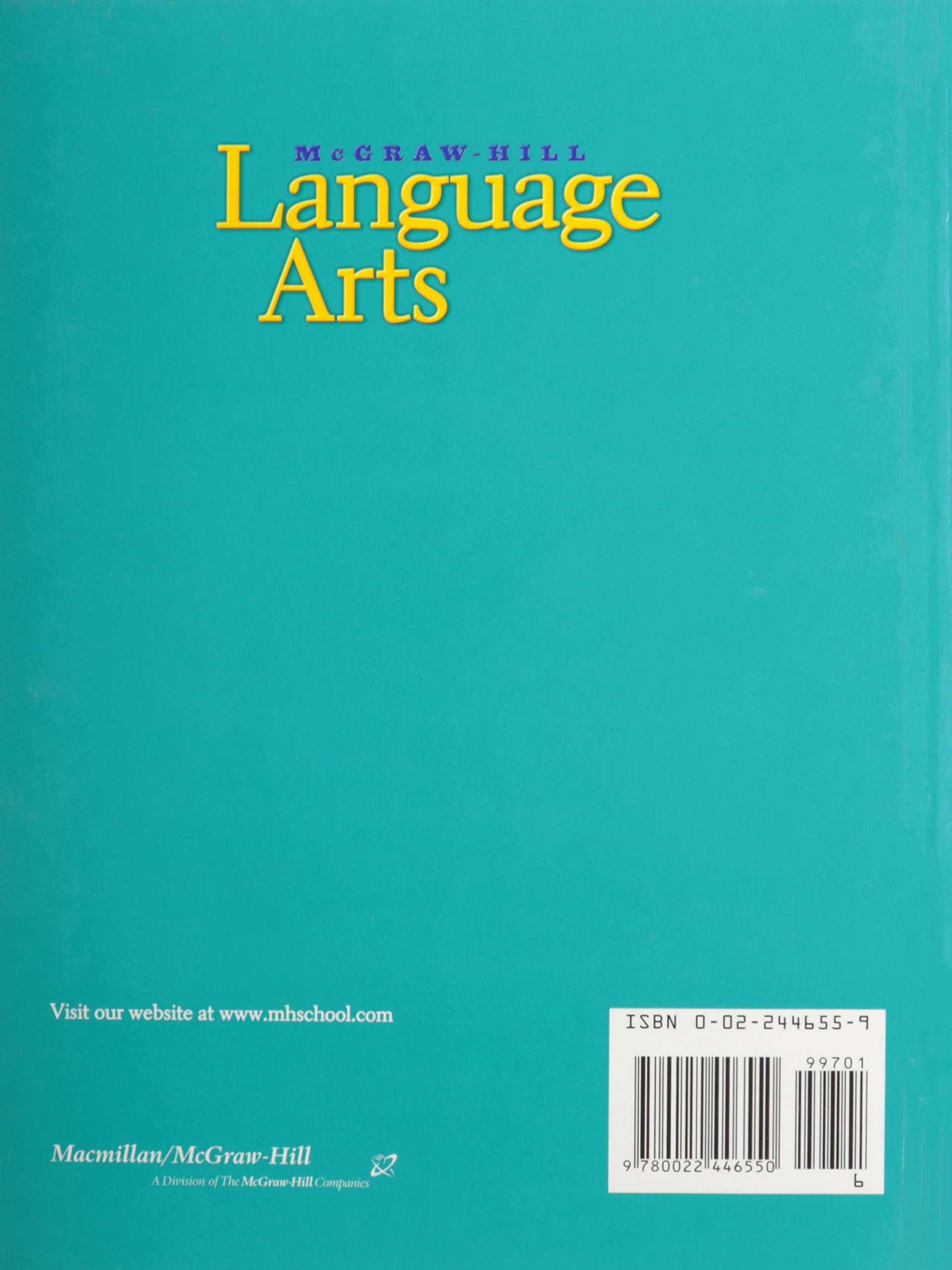 McGraw Hill Language Arts Grade 6 by Macmillan/McGraw-Hill School Div (Image #2)