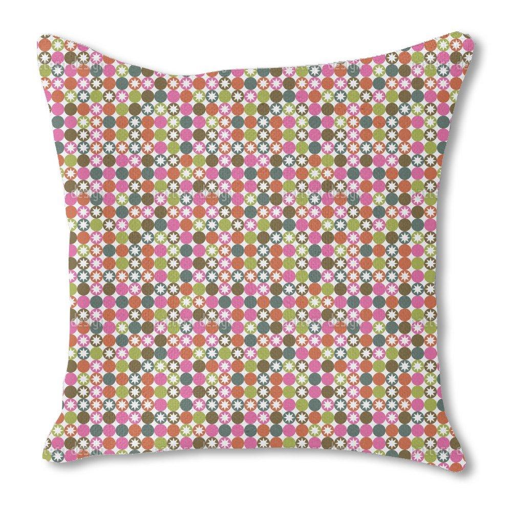 Star Bingo 18X18 Burlap Pillow 2-Sided Custom Printed by uneekee