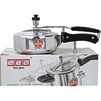 SARAL Aluminium 1.5 L Pressure Cooker with Inner Lid(Metallic)