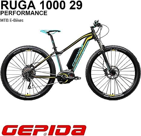 GEPIDA Mountain Bike eléctrica 29 Ruga 1000 Active 19 Antracita ...