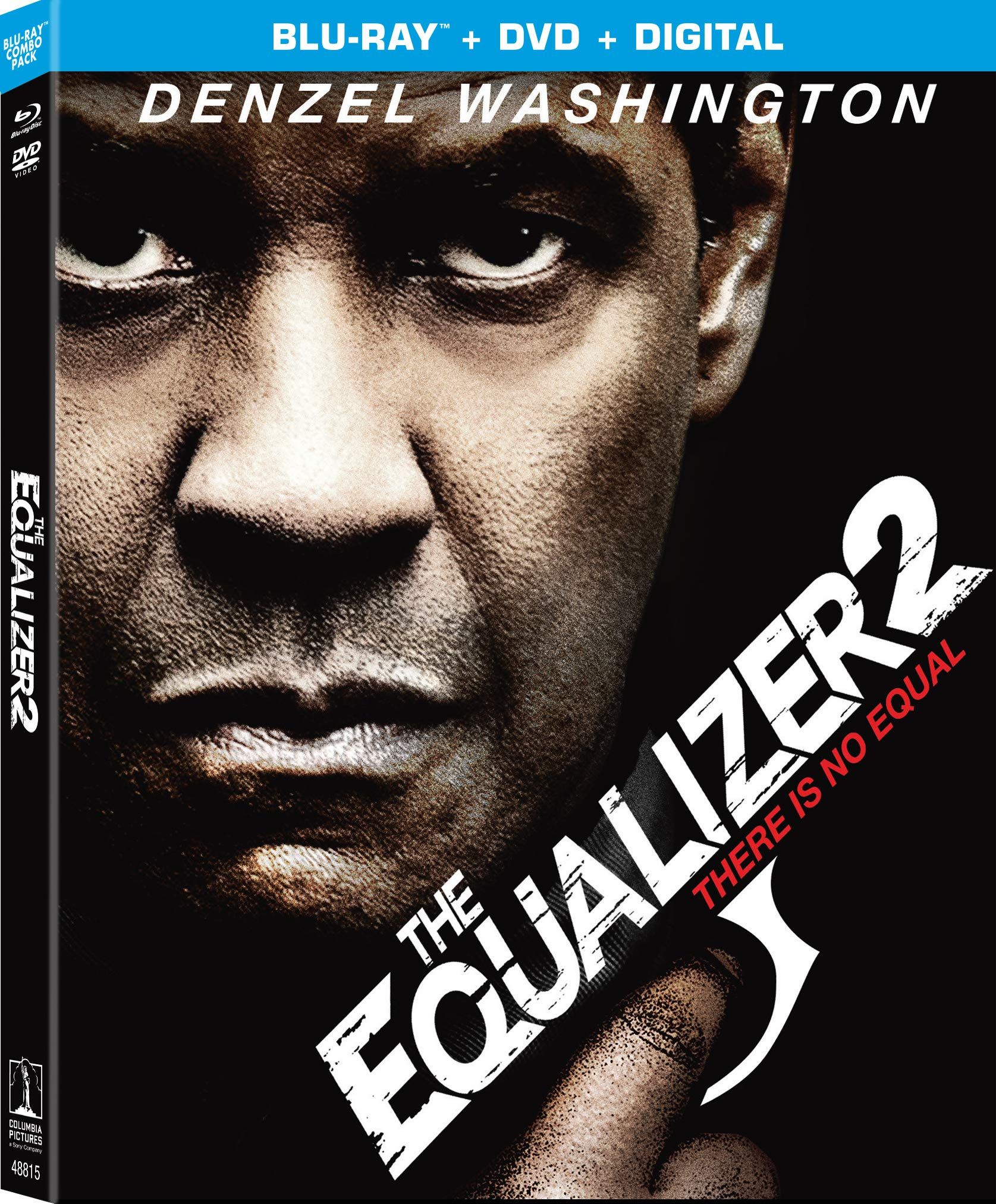 Blu-ray : The Equalizer 2 (With DVD, 2 Pack, Digital Copy)