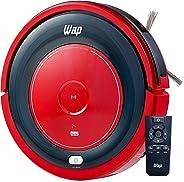 Robô Aspirador, WAP, Robot W300, Vermelho/Preto, 30 x 30 x 7.8 cm