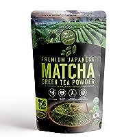 Matcha Organics - Premium Organic Japanese Matcha Green Tea Powder - Culinary Grade...