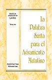La Palabra Santa para el Avivamiento Matutino - Estudio de cristalización de Levítico, Tomo 1 (Spanish Edition)