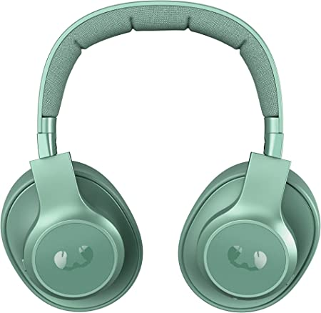 Auriculares Fresh n Rebel Clam ANC Misty Munt | Auriculares Bluetooth para colocar sobre las orejas con reducción activa del ruido