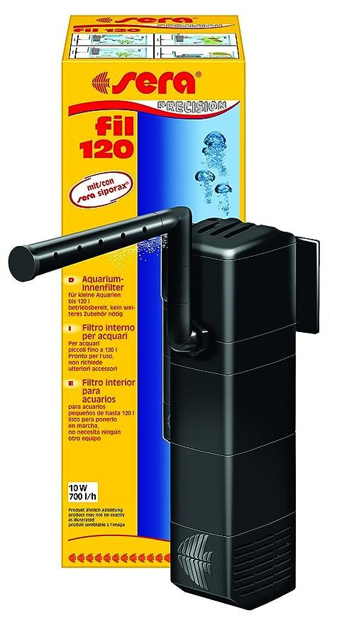 Sera 06844 Fil 120 filtro Interior de Acuario (700 L/h para acuarios hasta