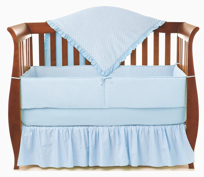 American Baby Company B00138XSZM Heavenly Soft Minky American Dot 4-Piece by Crib Bedding Set, Blue by American Baby Company B00138XSZM, ワイン&ウイスキーグランソレイユ:86bf386b --- ijpba.info