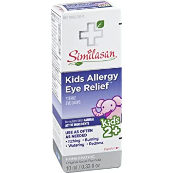 Allergy Eye Drops >> Amazon Com Similasan Kids Allergy Eye Relief Drops 0 33 Ounce For