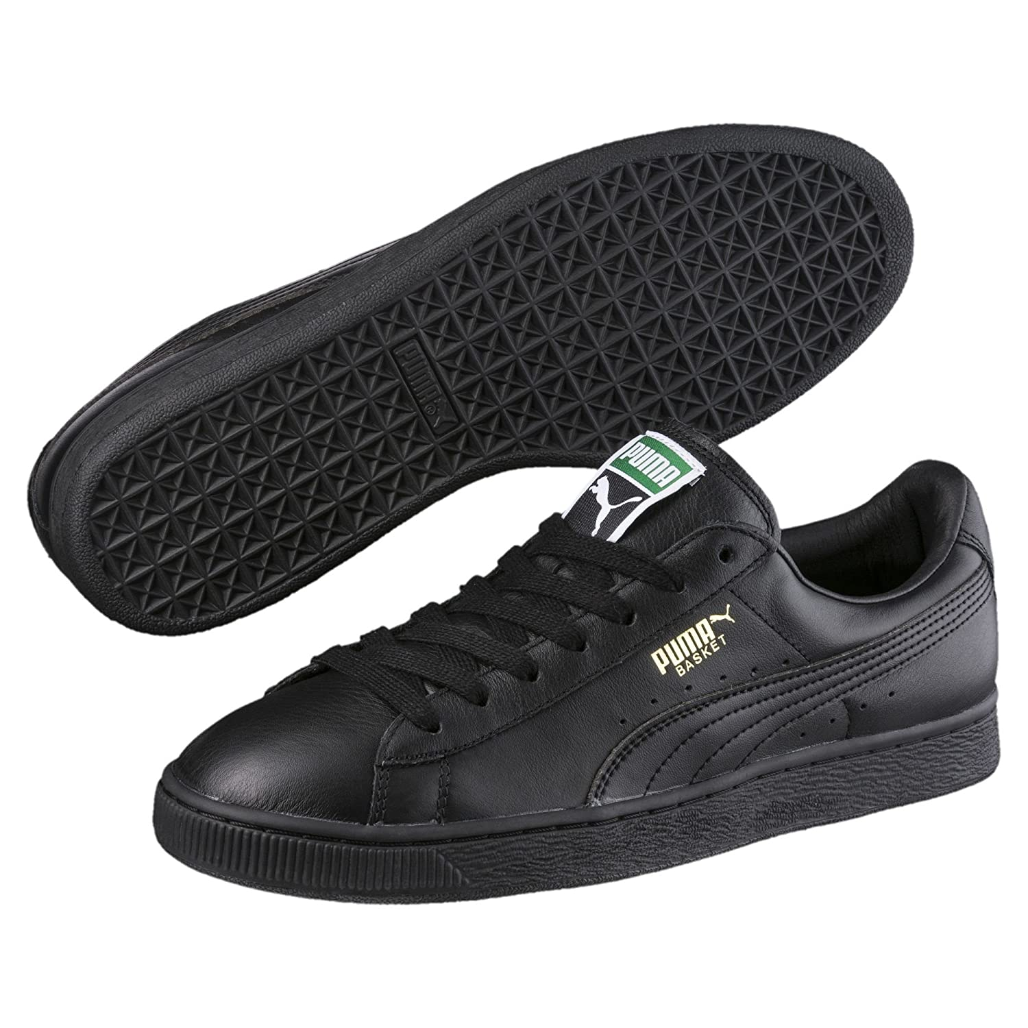 check out 55189 5ab96 Puma Men's Basket Classic LFS Leather Sneakers