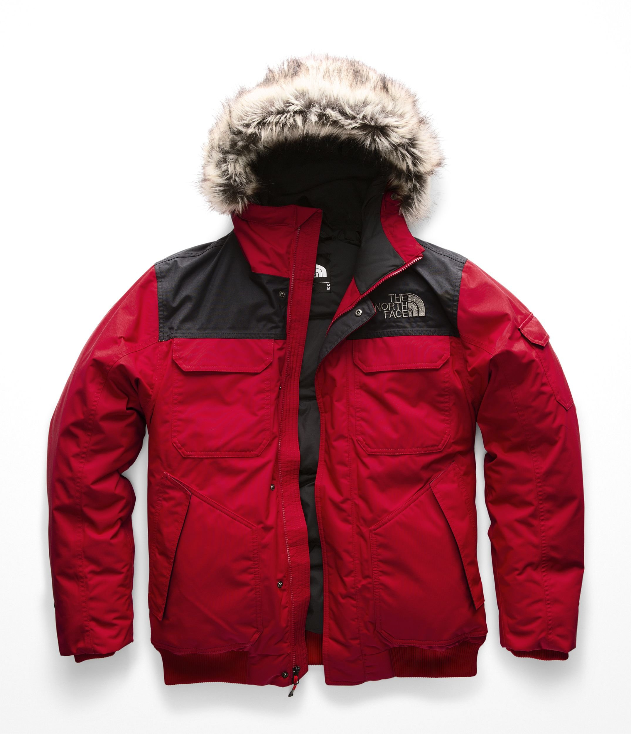 The North Face Men's Gotham Jacket III, TNF Red & TNF Black, Small by The North Face