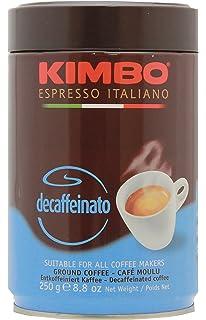 Kimbo Decaffeinato Ground Coffee in Can 8.8oz/250g
