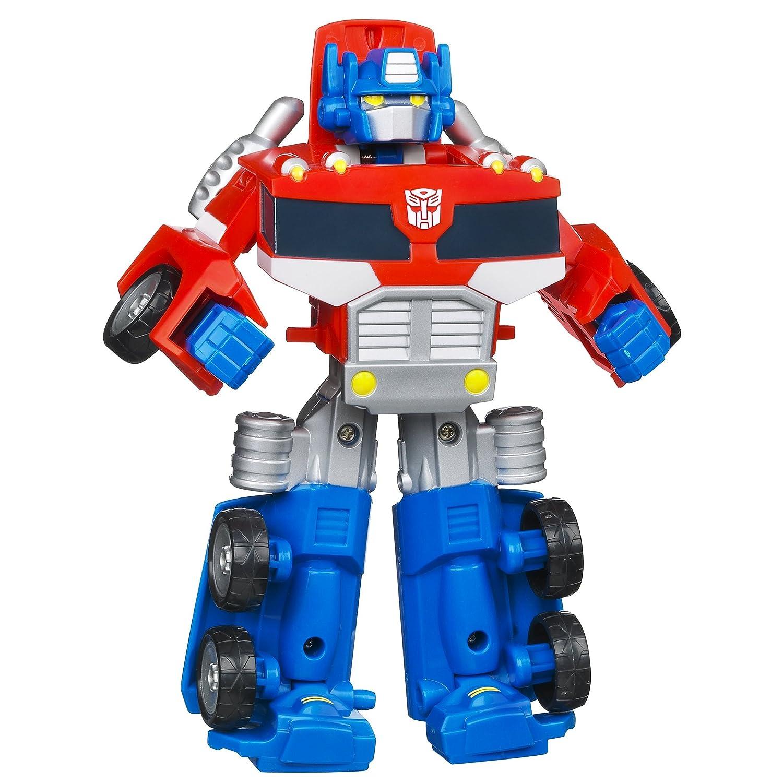Amazon Transformers Rescue Bots Playskool Heroes Optimus