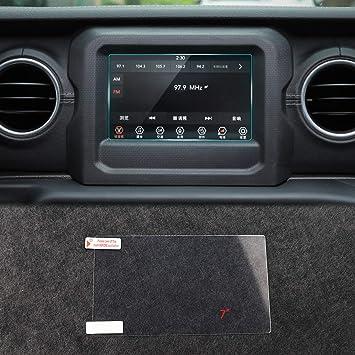 Mopar 82215574 Media Center Screen Protector Chrysler Pacifica Jeep Wrangler Gladiator for 7.0 Screen