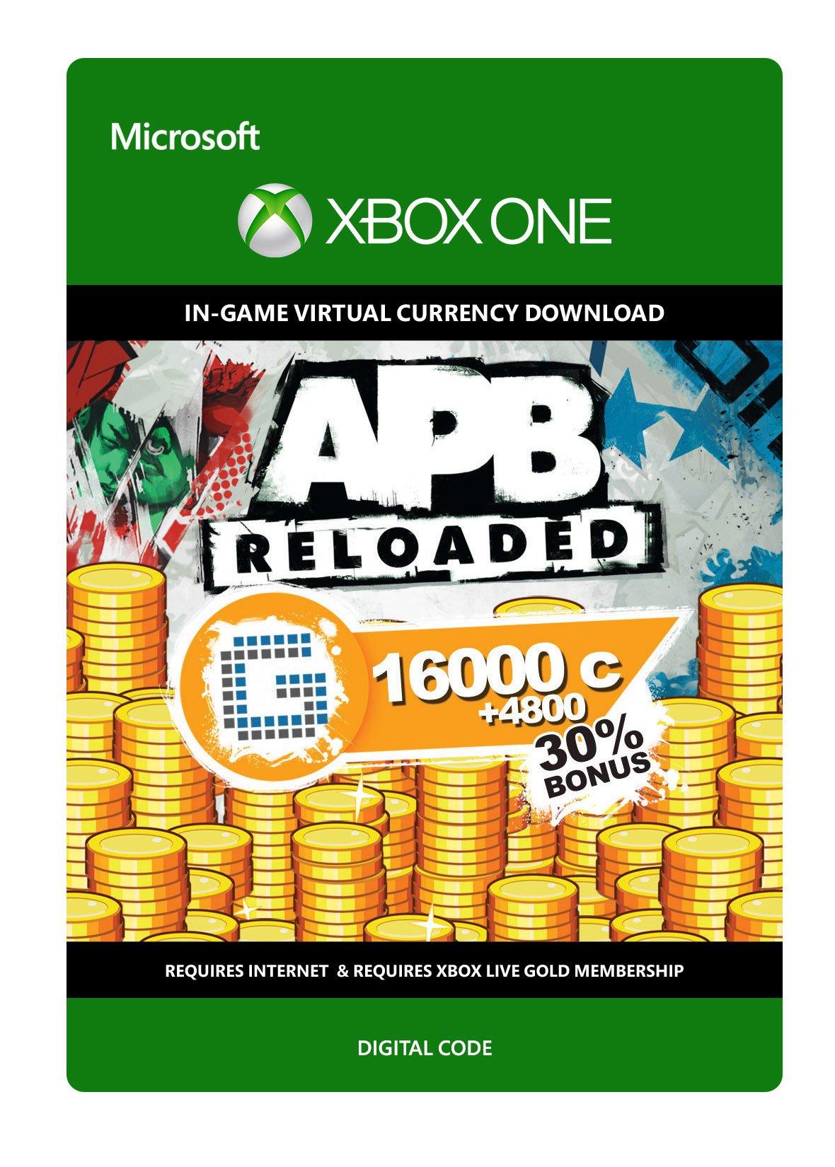 APB Reloaded 20800 G1C - Xbox One Digital Code