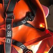 Climbing Technology Pro Canyon, Arnés, Color Negro/Naranja, Talla ...