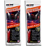 ORION Safety Products - 15 Minute Road Flares (1 Pack of 3 Flares) - 2 Pack