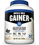 Muscle Milk Gainer Protein Powder, Cookies 'N Crème, 32g Protein, 5 Pound