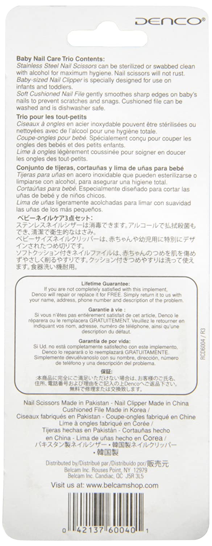 Amazon.com: Denco Baby Nail Care Trio: Health & Personal Care