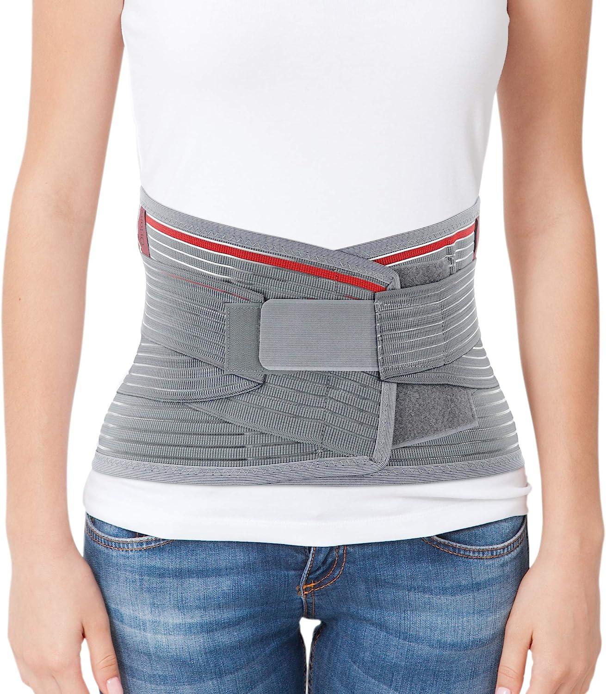 ORTONYX Lumbar Support Belt Lumbosacral Back Brace – Ergonomic Design and Breathable Material
