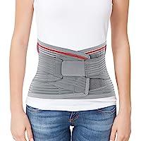 "ORTONYX Lumbar Support Belt Lumbosacral Back Brace – Ergonomic Design and Breathable Material - XS/M (Waist 26""-32.2…"
