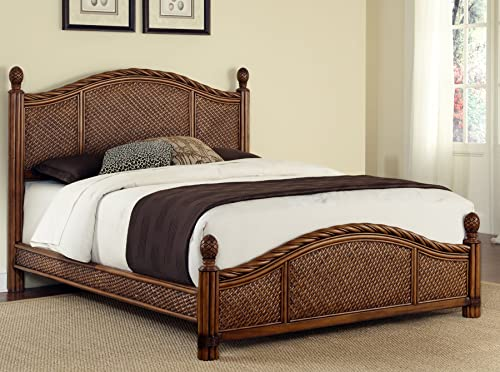 Marco Island Cinnamon Queen Bed by Home Styles