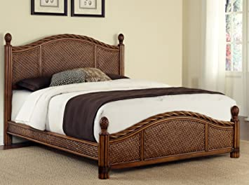 Amazoncom Home Styles Marco Island Queen Bed Kitchen  Dining