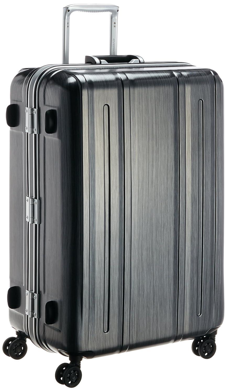 [エバウィン] 軽量スーツケース Be Light Premium 内装充実 容量94L 縦サイズ74cm 重量4.6kg EW31229 B00WQJQ7G4 ブラック(キズ軽減加工) ブラック(キズ軽減加工)