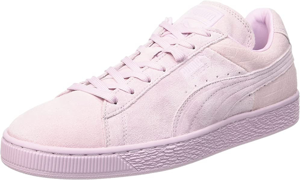 0ac03b9e7c69 Puma Unisex Adults  361372 Low-Top Sneakers Pink Size  4 UK  Amazon ...