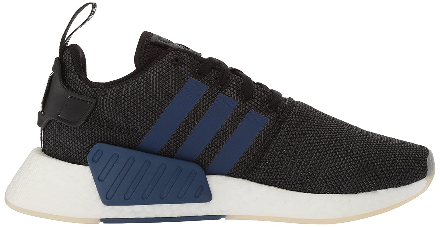 adidas Originals Women's NMD_R2 Running Shoe B077VYV3M8 7 B(M) US|Black/Noble Indigo/White