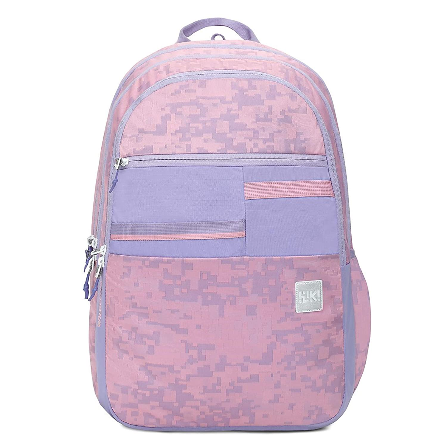 2a5996ae62334 Wildcraft Wiki 6 Jacquard Backpack Pink (11967 Pink): Amazon.in: Bags,  Wallets & Luggage