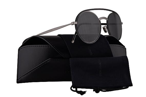 187d3062a746 Christian Dior Homme DiorSynthesis01 Sunglasses Dark Ruthenium Black w Grey  Lens 51mm V812K Dior Synthesis01