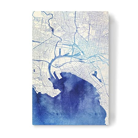 Artboxone canvas wall art melbourne australia blue infusion ii by artboxone canvas wall art melbourne australia blue infusion ii by makadi map cities atatu gumiabroncs Gallery
