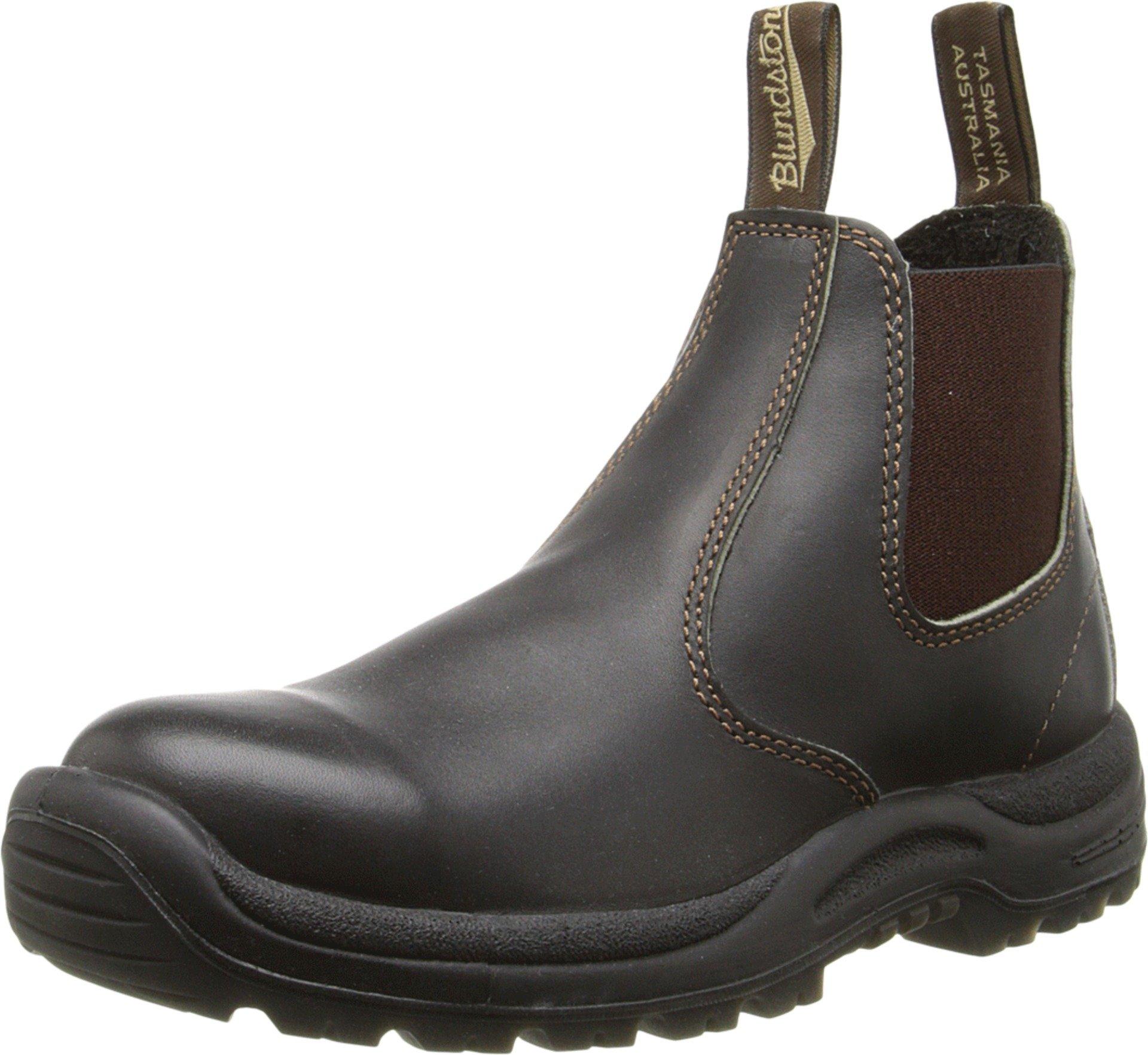 Blundstone 490 Bump-Toe Boot,Stout Brown,9.5 AU (US Women's 12 M/US Men's 10.5 M) by Blundstone