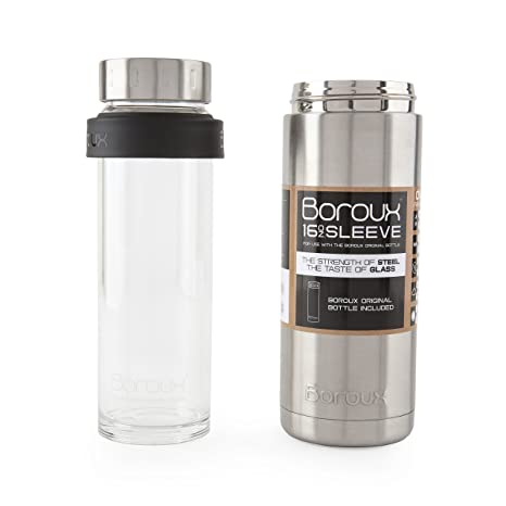 Amazon.com: boroux sleeve-insulated Thermos Botella de agua ...