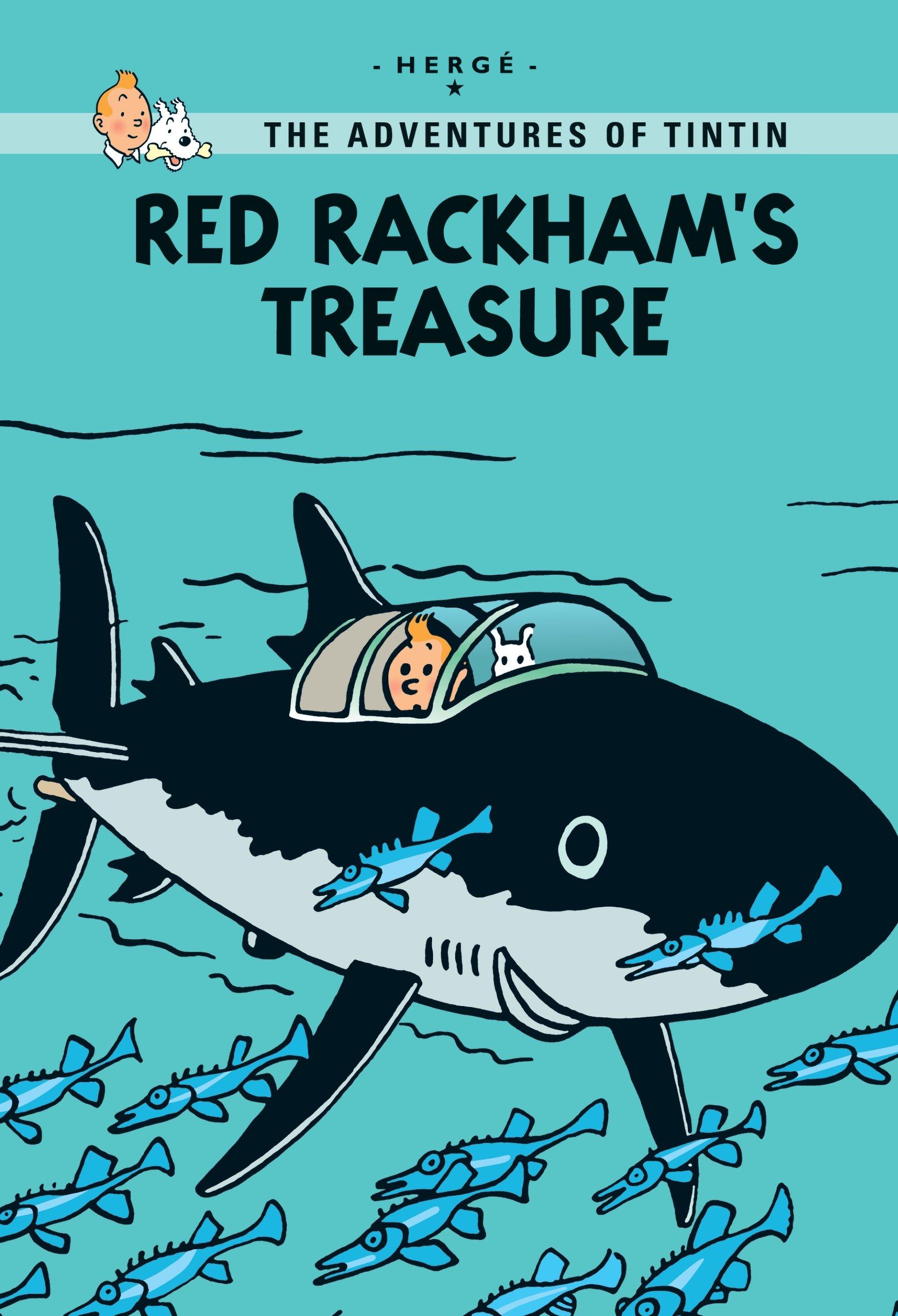 Download Red Rackham's Treasure (Tintin) pdf
