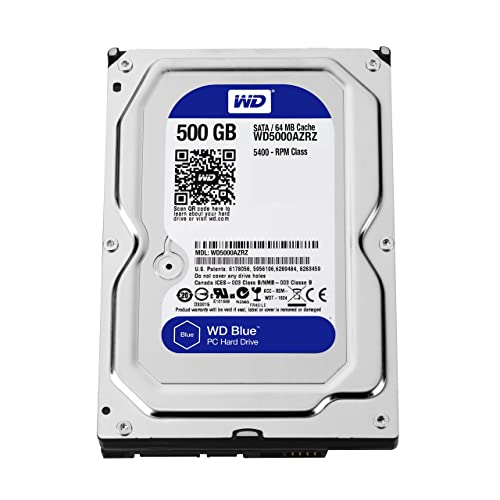 WD Blue 500GB Desktop Hard Disk Drive