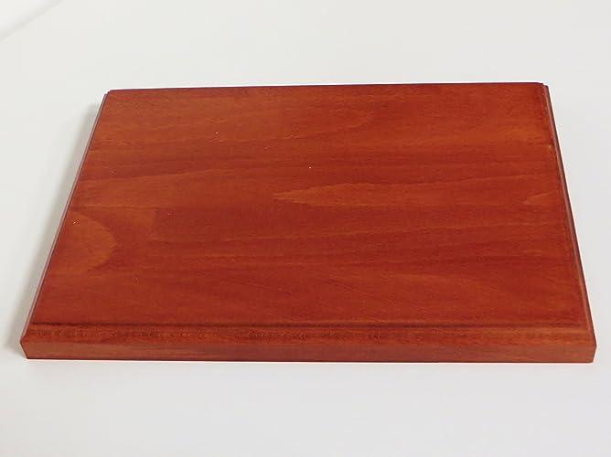 Base in legno per modellismo diorami e collezionismo cm