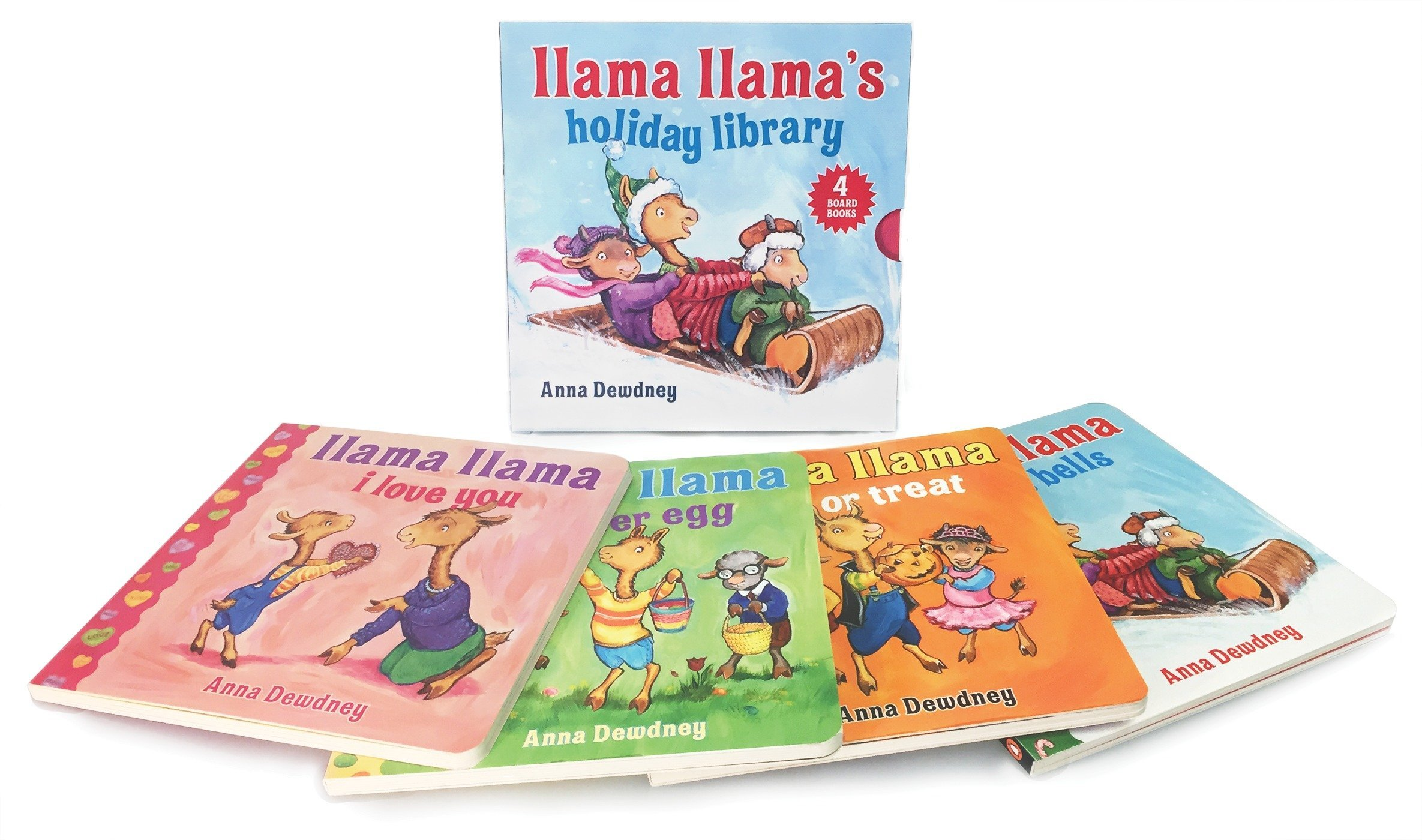 Llama Llama's Holiday Library by Viking Books for Young Readers (Image #1)