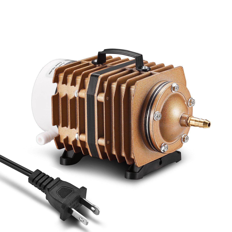 Aweking 1110GPH Commercial Air Pump,80W,70L/min,AC 110V,Hydroponic,Aquarium,Fish Tank,Aquaculture
