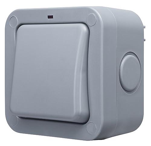 1 Gang 2 Way Ip55 Weatherproof 20 Amp Outdoor Light Switch