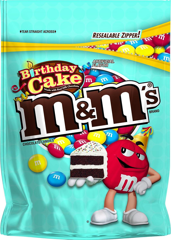 Amazon Mms Birthday Cake Chocolate Candy Singles Size 14