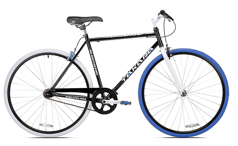 Takara Sugiyama Flat Bar Fixie Bike 700c Black Blue