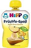 Hipp Früchte-Spaß Apfel-Birne-Banane, 6-er Pack (6 x 90 g) - Bio