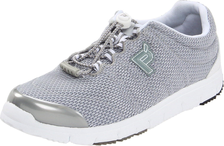 Propet Women's Travelwalker II Shoe B00GW6W7CU 11 W US|Silver Mesh