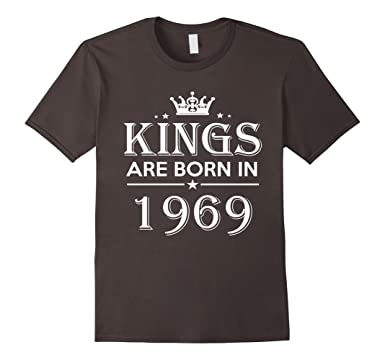 Mens 48th Birthday Gifts Idea For Him Men 48 Years Old King Shirt 2XL